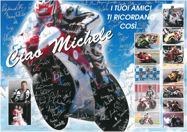 Ciao Michele Lando 27 grandissimo Pilota !!!!